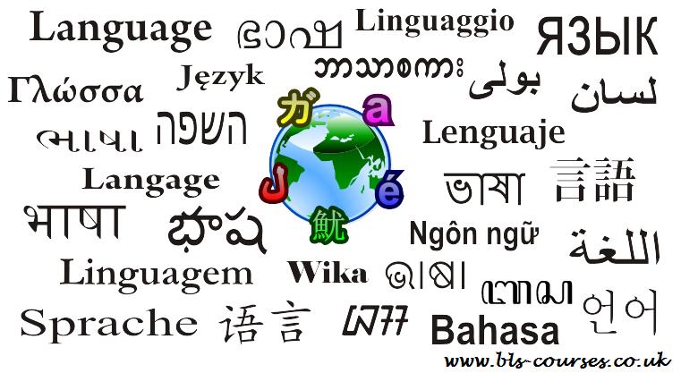 Language in diff languages