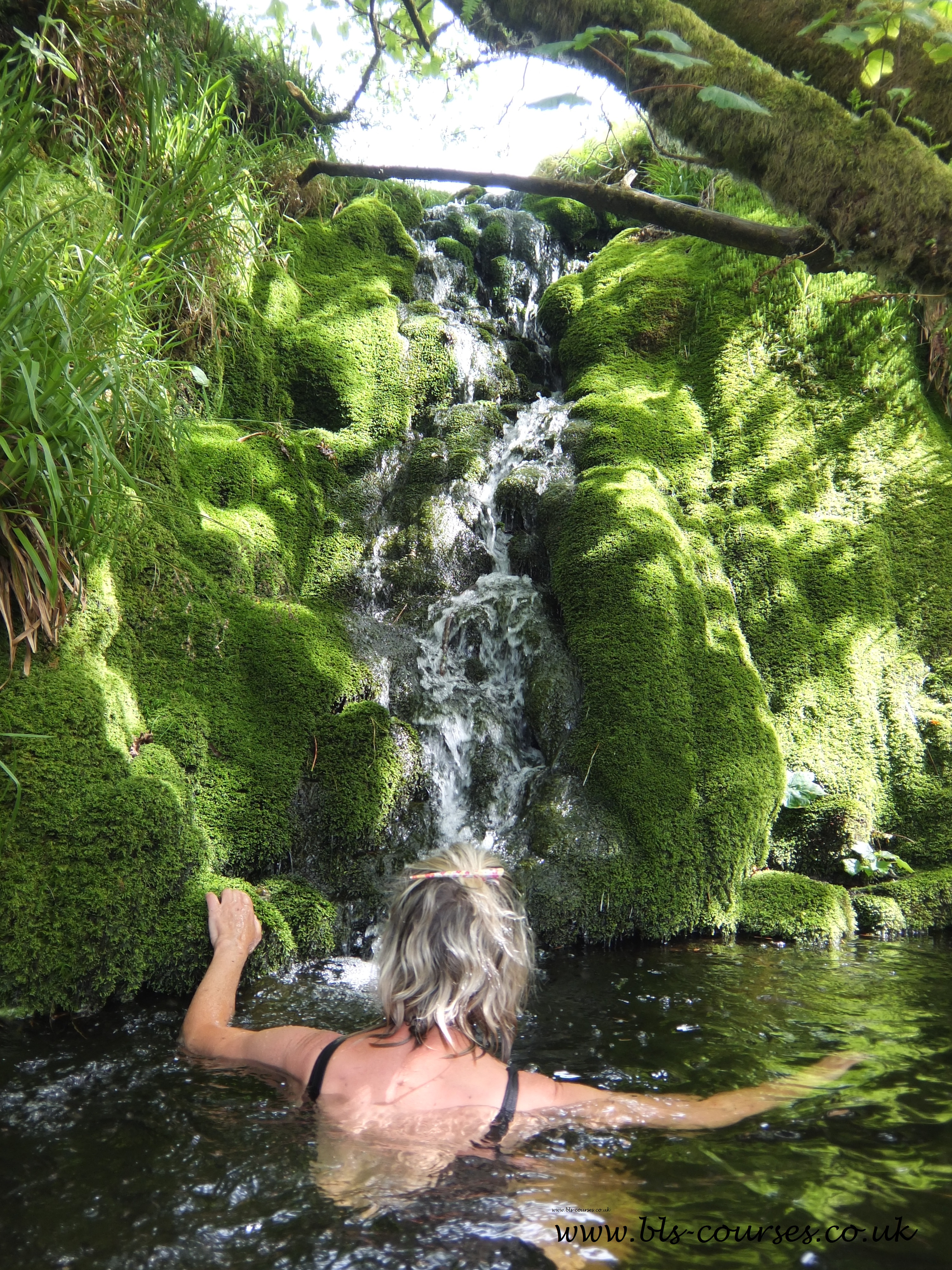 Shavercombe Waterfall credit Sophie Pierce
