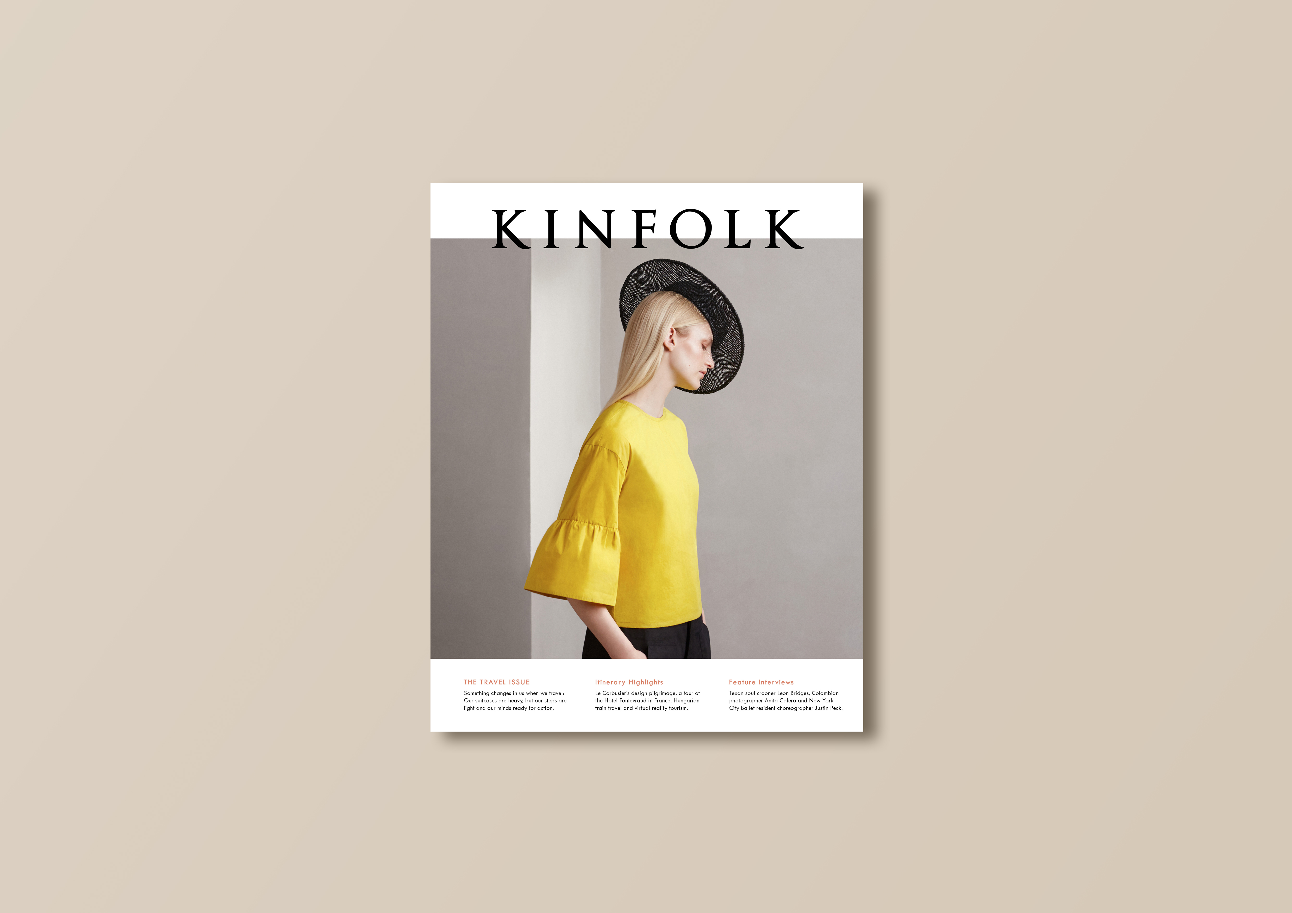 Kinfolk Travel Issue 1