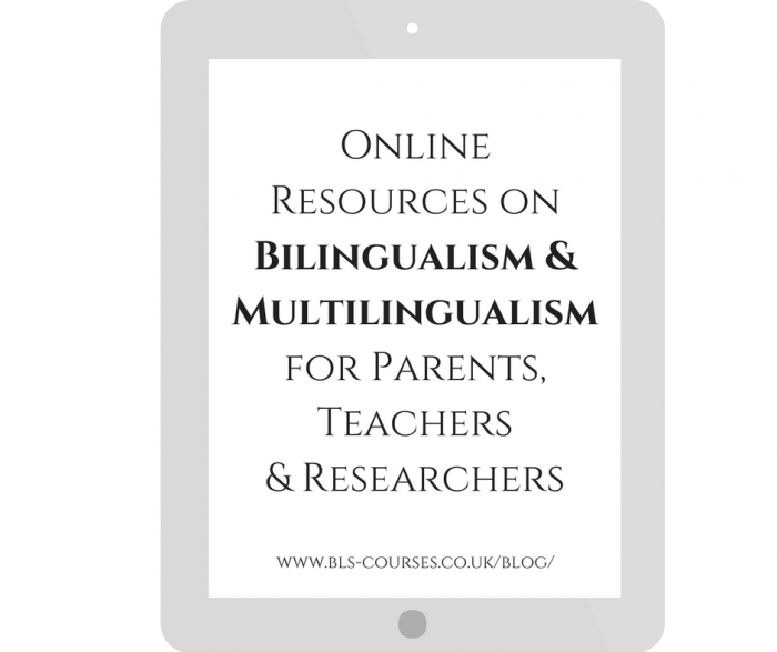 on bilingualism--ONLINE RESOURCESES