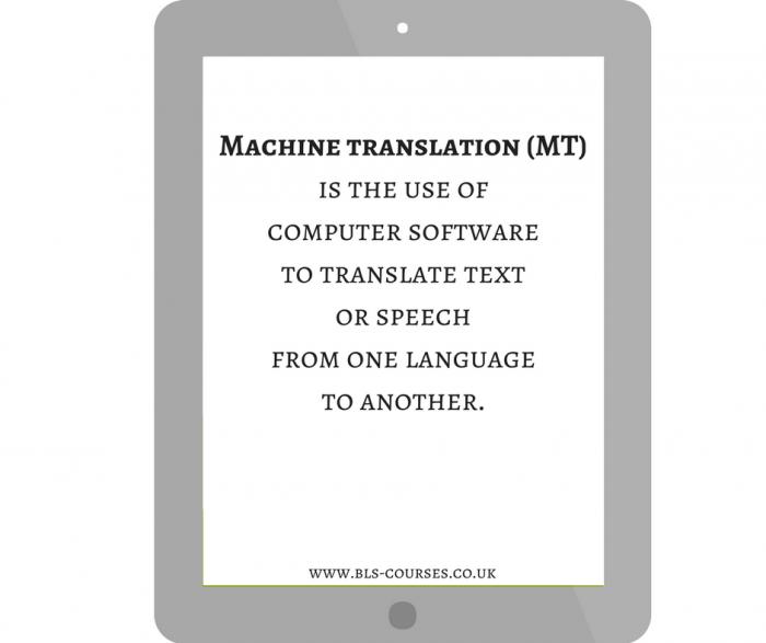 On translation--machine translation (2)